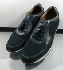271207 MS38 Men's Shoes Size 12 M Navy Leather 1850 Series Johnston & Murphy