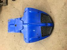 Polaris 900 Fusion 700 05 06 2005 2006 600 IQ Nose Belly Pan Plastic Blue front