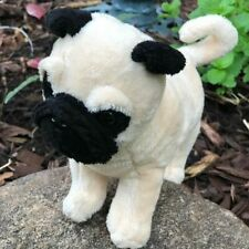 Mini 8 Inch Pug Pugslee Plush Stuffed Animal Puppy Dog