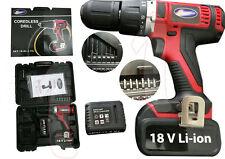 Trapano avvitatore 2 batterie 3,0 AH 18V Litio Percussione