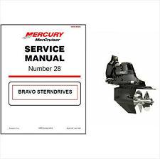 00-05 MerCruiser #28 Bravo Sterndrive Service Repair Workshop Manual CD