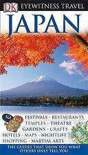 DK Eyewitness Travel Guide: Japan, Very Good Condition Book, John Benson, ISBN 9