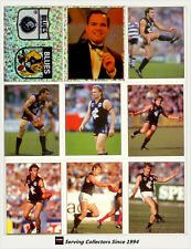 *1995 Select AFL Football Stickers Base Team Set Carlton (16)- Mint(Premiership)