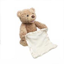 Teddy Bear Peek a Boo Play Hide and Seek Plush Toy Brown Stuffed Doll Xmas Gift