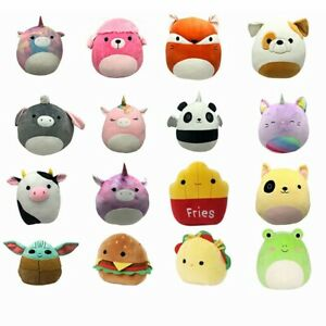 Squishmallow Plush Dolls Stuffed Toys Soft Pillow Child Kids Gifts 7.8In(20cm)