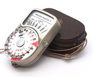 Vintage Weston Master V Universal Exposure Meter (Spares) - UK Dealer