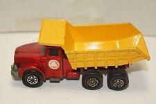 ORIGINAL Matchbox - Super Kings Scammell Contractor - Tipper Truck - Red/Yellow