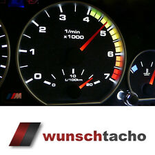 Tachoscheibe für Tacho BMW E46 Diesel *Alp*  270Kmh