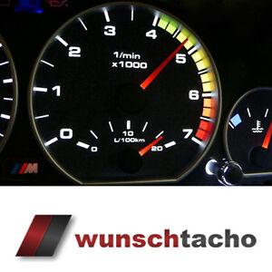 Tachoscheibe für Tacho BMW E46 Diesel *Alp*  270Kmh ...