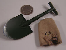 WWII Soldier Story 82nd Airborne Medic Shovel n carrier 1/6 DID Toys gi joe bbi