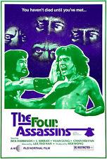 The Four Assassins - 1980 - Movie Poster