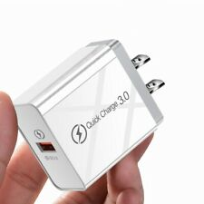 3.0 Quick USB Charger 5V 9V 12V Fast Adapter For iPhone Samsung Xiaomi Huawei