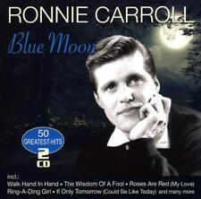 RONNIE CARROLL - BLUE MOON-50 GREATEST HITS  2 CD NEUF