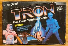 Tron (Donruss, 1981).1 Unsealed Box W/ 36 Unopened Packs