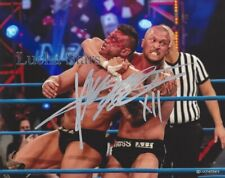 Killer Kross Signed 8x10 Photo Wrestling vs Brian Impact Lucha Stars COA TNA