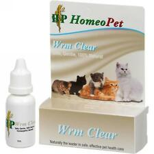 HomeoPet, Feline Wrm Clear, 15 ml