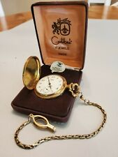 Colibri Pocket Watch 17-jewel Swiss Made Hunter Style