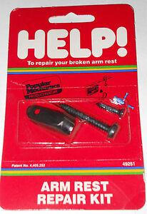 Help 49251 Arm Rest Repair Kit for 1976-93 Chevrolet Corvette Camaro Pontiac