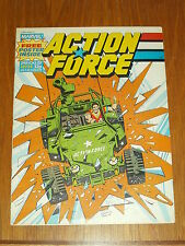 ACTION FORCE #34 24TH OCTOBER 1987 MARVEL BRITISH WEEKLY COMIC WITH FREE GIFT