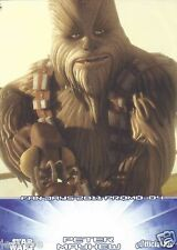 Peter Mayhew Chewbacca Official Pix Star Wars Autograph Trading Card Fan Days