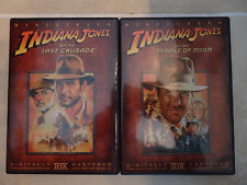 INDIANA JONES AND THE LAST CRUSADE TEMPLE OF THE DOOM THX DVD MAKE AN OFFER!!!!!