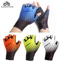 Cycling Gloves MTB Bike Half Finger Mitten Short Shockproof Mitts Men Women