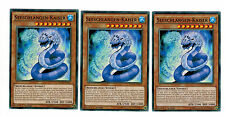 Yugioh Maximum Crisis  3 x Seeschlangen-Kaiser MACR-DE091 Common, 1. Auflage