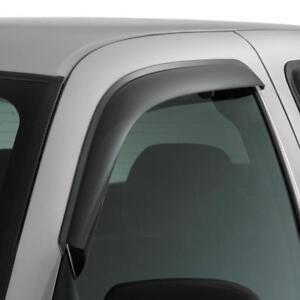 AVS for 08-14 Ford E-250 Ventvisor Outside Mount Window Deflectors 2pc - Smoke -