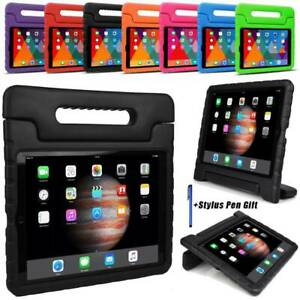 Safe Kids Heavy Duty Shockproof EVA Foam Handle Case Cover Stand For Apple iPad