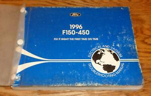 1996 Ford F-150 F-250 F-350 F-450 Wiring Diagrams EVTM Manual Electrical Vacuum