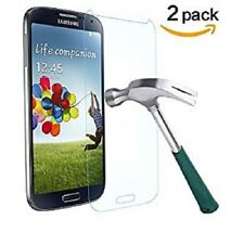 2X Premium Real Tempered Glass Film Screen Protector for Samsung Galaxy S4 i9500