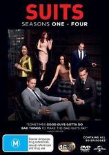Suits : Season 1-4 (DVD, 2015, 16-Disc Set)