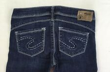 SILVER JEANS Sale New Low Rise Camden Rose Skinny Stretch Jean 28 x 31