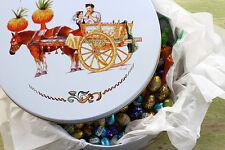 """Italian gift tin / storage container - """"Caretto Siciliano"""" (Sicilian Cart XL)"""
