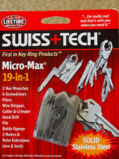Swiss+Tech MMCSSS Micro-Max 19-in-1 Keychain Multitool quality EDC