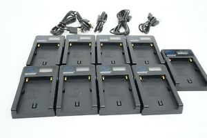 Lot of 9 New Neewer NW-USBF550 Charger for F550/750/960 FM50/60/70 VBD1, VBD2,