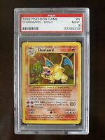 Charizard 4/102 Holo 1999 Base Set Pokemon Mint PSA 9
