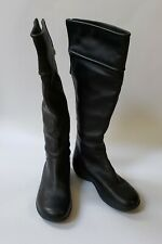 Clarks Privo Womens Boots Shoes Black Knee High Back Zipper Size 6 M