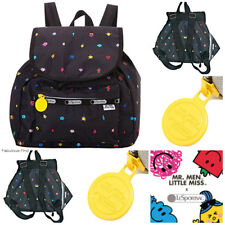 LeSportsac Mr Men Little Miss Happyland Small Edie Backpack Free Ship NWT