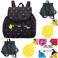 LeSportsac Mr Men Little Miss Happyland Small Edie Backpack Rucksack NWT G305