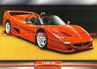 FERRARI F 50 ( F50 ) 1995 : Fiche Auto Collection