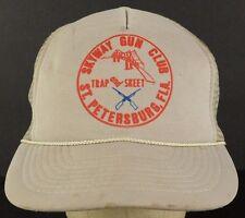Skyway Gun Club ST. Petersburg, Florida Mesh Trucker Hat Cap Adjustable Snapback