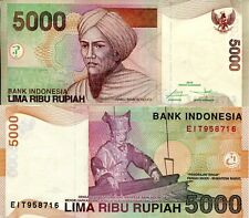 INDONESIA 5000 Rupiah Banknote World Paper Money UNC Currency Pick 149 New 2016