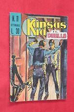 fumetto KANSAS KID EDITORIALE CORNO numero 11