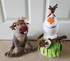 Olaf & Sven soft toys Frozen Bundle stuffed toy Plush small Disney Store hawaii