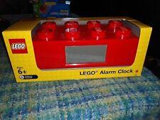 Lego Red Brick Digital Lcd Alarm Clock Item 9002168 Brand New in Original Box