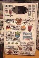 Disney Lunch Bag Pencil Case TDR Japan Tokyo Disney Resort Disney Food