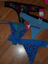 4  juniors g-string thong by Candie's (kohls)  Large ~  nylon