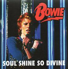 DAVID BOWIE - SOUL SHINE SO DIVINE (LIVE 1974 + BONUS) - CD CARDBOARD SLEEVE