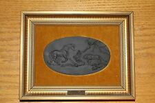 Wedgwood Basalt Limited Edition The Frightened Horse Framed Plaque